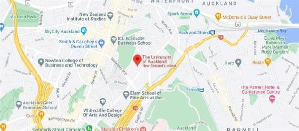 دانشگاه آوکلند کجاست؟