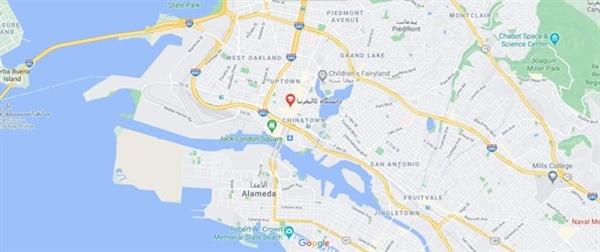 دانشگاه کالیفرنیا کجاست
