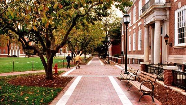 تصویری زیبا از دانشگاه جانز هاپکینز
