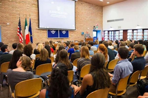نمایی از دانشگاه جانز هاپکینز در بولونیا ایتالیا