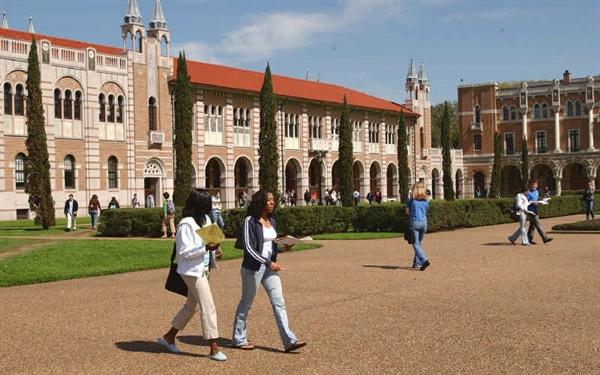 فرصت پذیرش دانشگاه رایس آمریکا را از دست ندهید.