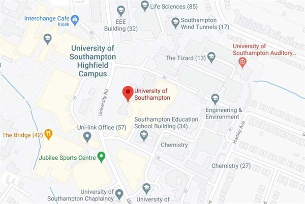 دانشگاه ساوت همپتون کجاست؟