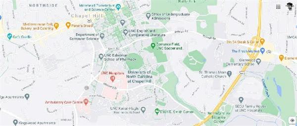 دانشگاه کارولینای شمالی در چپل هیل