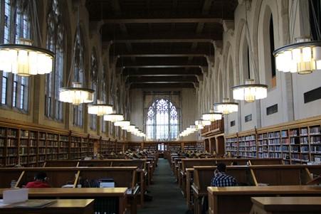 کتابخانه دانشکده حقوق دانشگاه Yale